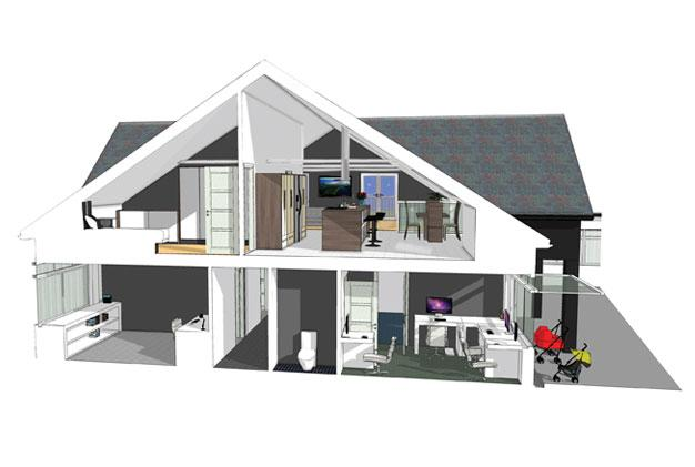 Nursery Extension Nottingham Internal View
