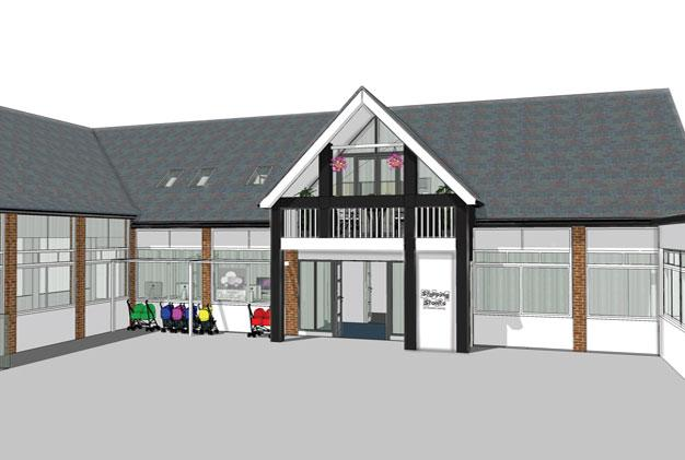 Nursery Extension Nottingham Elevation View